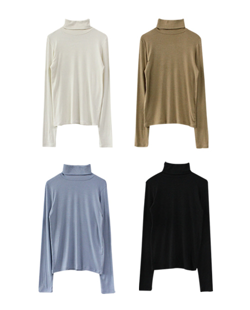 pudding pola tee / 4color