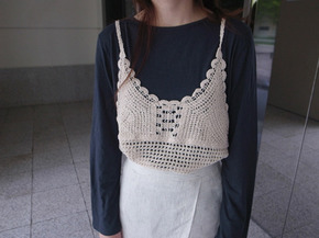 lace knit busiter