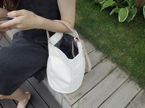 your simple bag : ivory