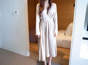 skin wrap dress