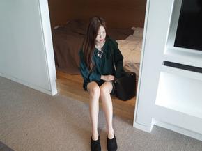 navillera blouse : green