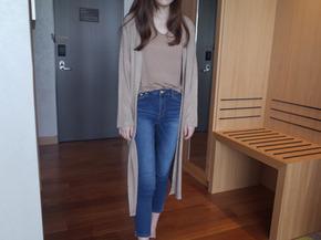 open long cardigan