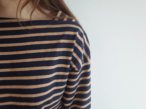 square stripe top