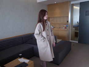 haru wool coat