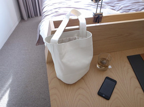 ivory leather bag