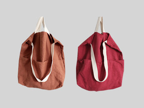 casual linen bag