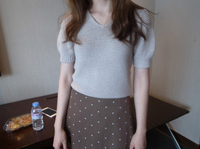 summer knit top