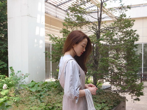 string blouse : sky