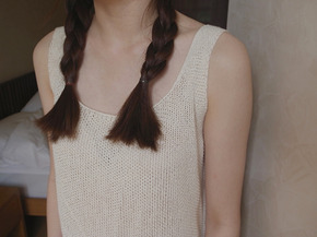 your knit sleeveless