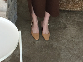 daily sling back : beige