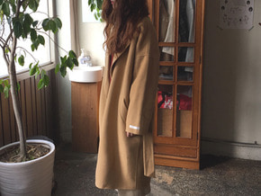 real handmade coat : beige