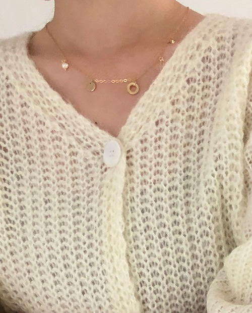 deepen necklace : gold