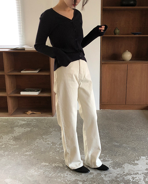 basic cotton pants
