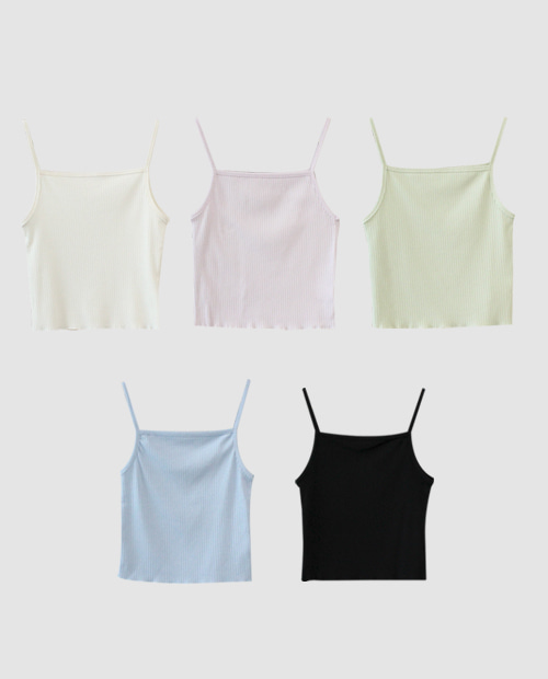 ohu sleeveless / 5color