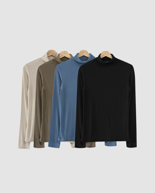 taper pola tee / 4color
